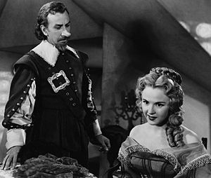 Cyrano de Bergerac (1950 film) - José Ferrer and Mala Powers