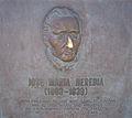 José María Heredia plaque in Niagara Falls, Ontario.jpg