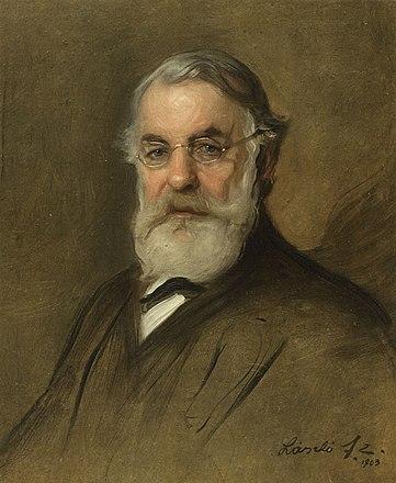 Joseph Joachim, by Philip Alexius de László, 1903