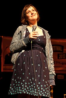 Josie Long British comedian
