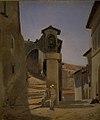 Julius Friedlænder - Street Scene in Subiaco, Italy - KMS2062 - Statens Museum for Kunst.jpg
