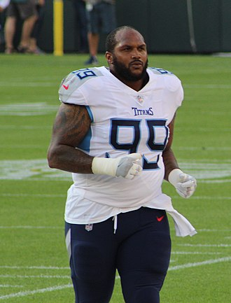 Jurrell Casey - Casey with the Tennessee Titans in 2018