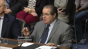 Archivo:Justice Antonin Scalia on Separation of Powers and Checks and Balances.webm