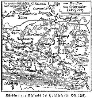 Map of the battle
