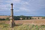 Kříž u silnice na Hluchov, Čechy pod Kosířem, okres Prostějov.jpg