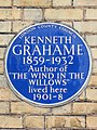 KENNETH GRAHAME 1859-1932 Author of 'THE WIND IN THE WILLOWS' lived here 1901-1908.jpg