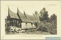 KITLV - 37391 - Demmeni, J. - Tulp, De - Haarlem - A Minangkabau house at Kotagedang near Fort de Kock (Bukittinggi) - 1911.tif