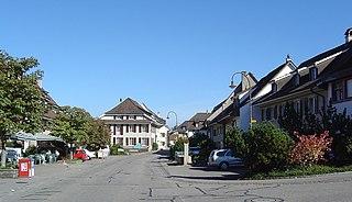 Kaiseraugst Place in Aargau, Switzerland
