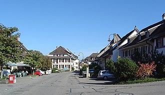 Kaiseraugst - Kaiseraugst village center