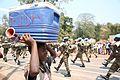 Kalemie, province du Katanga, RD Congo - Un jeune congolais assiste à la parade militaire du contingent béninois organisée dans le cadre de la fête nationale du pays. (20070179518).jpg