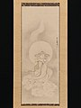 Kano Tan'yū - Jizō Bosatsu Playing a Flute - 2015.300.78 - Metropolitan Museum of Art.jpg