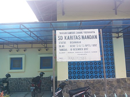 SD Karitas Nandan Yogyakarta