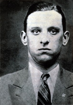 Karl Silberbauer SS Nazi Officer, responsible for the arrest of Anne Frank and her family