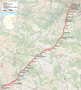 Bahnstrecke Berlinhalle Wikipedia