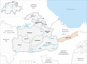 Map of Eggersriet