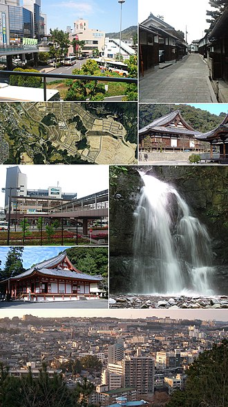 Kawachinagano, Osaka - Kawachinagano Station, Kōya Kaido, Mikanodai, Kongō-ji, Mikkaichi Station, Kanshin-ji, Takihata 48 Waterfalls, View of Center in Kawachinagano