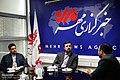 Kazem Gharib Abadi at the Mehr News Agency HQ 2016-08-28 03.jpg