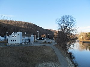 Kent School - Kent School Boat Club on the banks of the Housatonic River