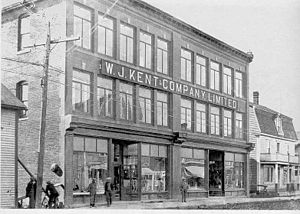 English: Kent's Department Store in Bathurst, ...