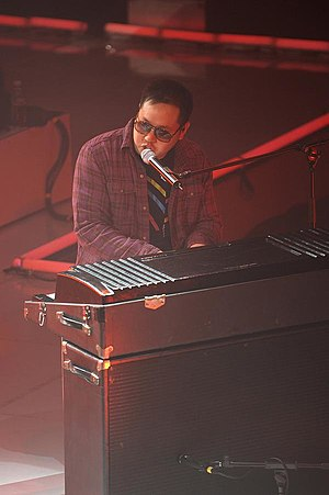 Kero One - Kero One Playing Fender Rhodes at a concert in 2009.