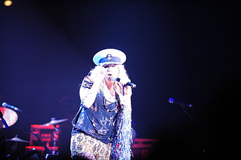Kesha in concert at the United States Naval Ac...