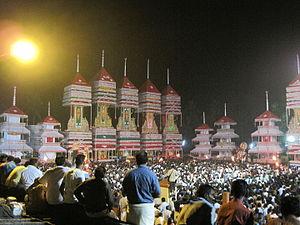 Chettikulangara Devi Temple - Kettukazhcha