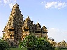 Общий вид храма кандарья махадева