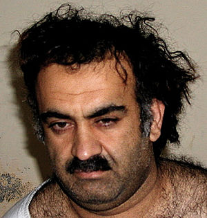 English: Khalid Shaikh Mohammed, upon capture.