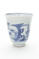 Kinesisk kopp av porslin med blå underglasyrmålning, från 1662-1722 - Skoklosters slott - 93536.tif