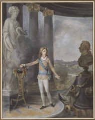 King Gustav IV Adolf of Sweden Sacrifices to Hygia for his Father's Health