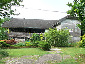 Nan, Thailand - King of Nan's Teak House