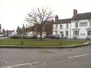 Tanworth-in-Arden - The village green, March 2006
