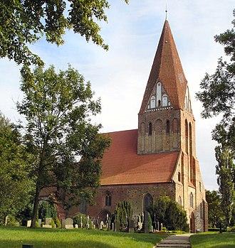 Bartenshagen-Parkentin - Parkentin parish church