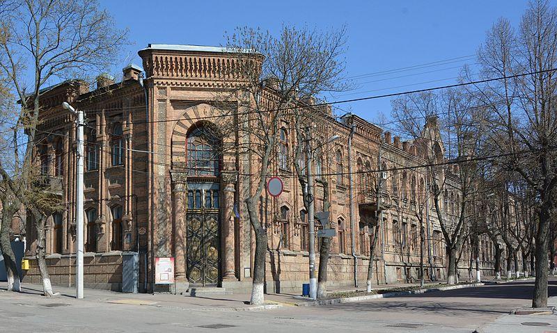 Комплекс будівель приватної лікарні Гольденберга, Кіровоград. Автор фото — Nataliya Shestakova (ліцензія CC-BY-SA-4.0)