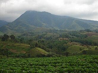 Lantapan, Bukidnon - Kitanglad Mountain Range as viewed from Songco