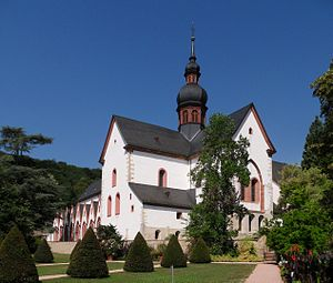 Eberbach Abbey - Abbey church