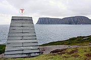 Norwegian National Trekking Association cairn