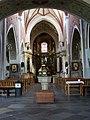 Kościół, ob. par. pw. św. Jana Ewangelisty, 2 poł. XI, XIII-XVI-XVIII wnętrze (4).JPG
