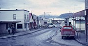 Street of Kodiak in 1965