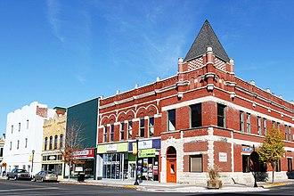 Kokomo, Indiana - Image: Kokomo downtown 1
