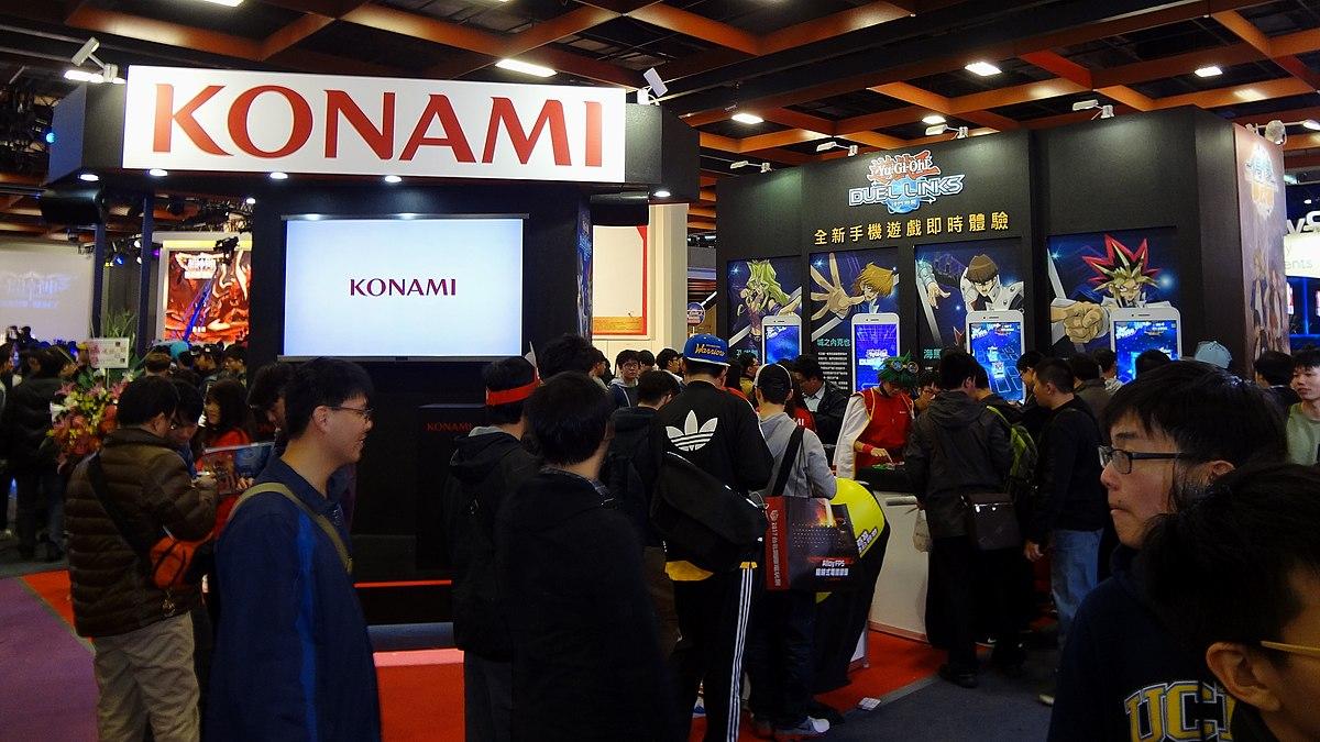 Konami booth, Taipei Game Show 20170123a.jpg