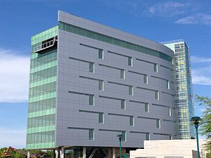 Moline, Illinois - The new Kone Building in Downtown Moline, Illinois