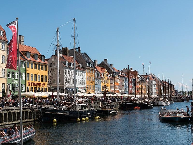 Nihayan ponto turístico de Copenhague