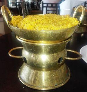 Khichra - Korai Khichuri, a bangali dish