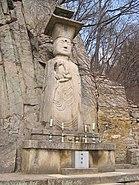 Korea-Goryeo dyansty-Hyangungak-Standing Maitreya statue-01