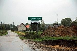 Krajewo-Korytki - Image: Krajewo Korytki gm. Zambrów