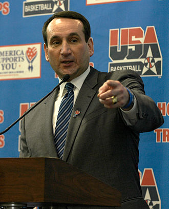 Atlantic Coast Conference Men's Basketball Coach of the Year - Duke's current head coach, Mike Krzyzewski, is second all-time in ACC Coach of the Year Awards with five.