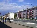 Kstovo. Prams at 40th October's Anniversary Street.jpg