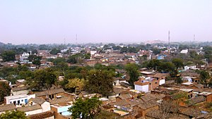 Kulpahar - View of the city from Senapati palace