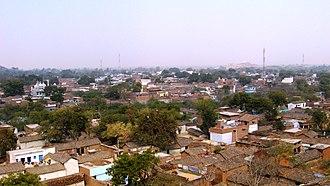 Kulpahar - View of the city from Senapati palace